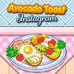 Torrada de Abacate Instagram