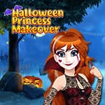 Transformação de Halloween da Princesa