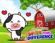 Cartoon Farm Spot The Difference