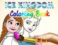 Mundo do Gelo Livro de Colorir