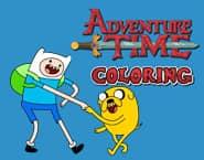 Colorindo com Hora da Aventura