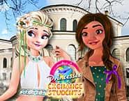 Elsa e Moana Estudantes de Intercâmbio