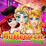 Festa de Halloween das Princesas