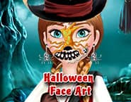 Arte Facial de Halloween