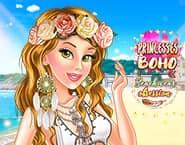 Princesa Boho Obsessão por Roupas de Praia