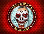 Arte Facial Modelos de Halloween