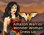 Guerreira Amazona Mulher maravilha Dress Up