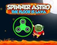 Astro Spinner: O Chão é Lava