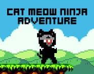 Gato Miau Aventura Ninja