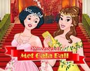 Princesas na Festa de Gala