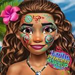 Maquiagem Princesa Exótica