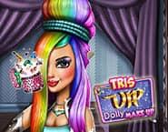 Tris VIP Maquiagem de Boneca
