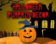 Decoração Abóbora de Halloween