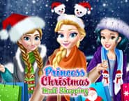 Compras de Natal no Shopping