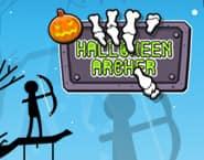 Arqueiro de Halloween