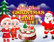 Tempos de Natal com a Bebê Hazel