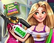 Princesa Goldie Shopping de Verdade
