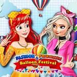 Princesas Fashion e Festival de Balões
