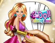 Livro de Bonecas para Colorir